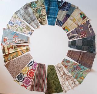 Fabric set, circular