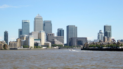 Canary Wharf from Shadwell