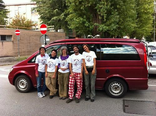 The red van