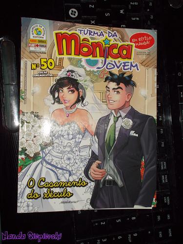 O casamento da Mônica e doCebolinha