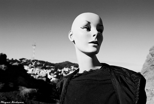 Corona Heights Mannequin