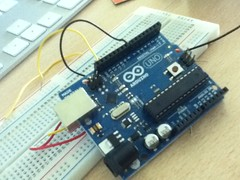 Arduino on my desk
