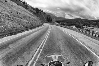 Wyoming Centennial Scenic Byway.  U.S. Route 191, Bridger-Teton National Forest, WY.
