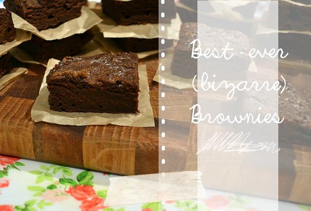 bizarre brownies Title