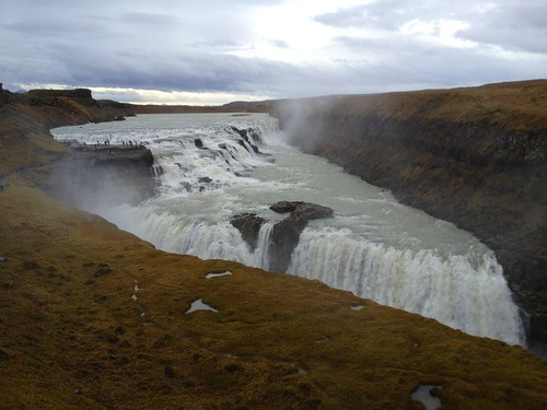 Gulfoss (Golden Falls), Ísland