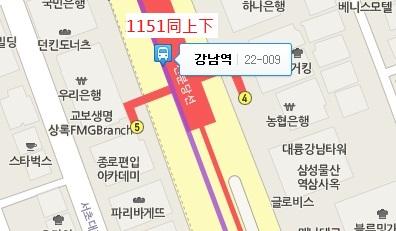 栗洞公園율동공원公車路線