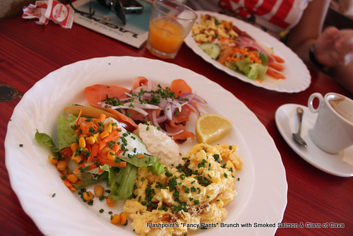 Brunch at Flashpoint, El Medano