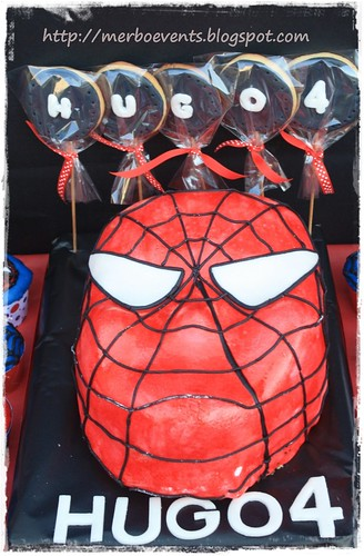 Candy bar 2. Kit de fiesta spiderman. Merbo events