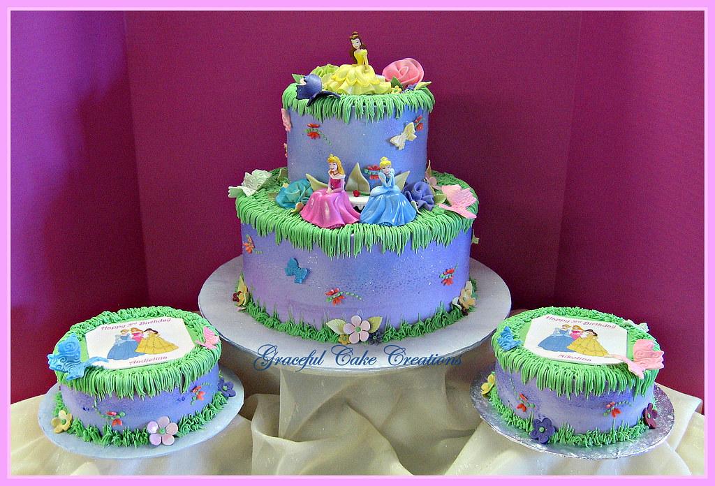 Disney Princess Birthday Cake - a photo on Flickriver