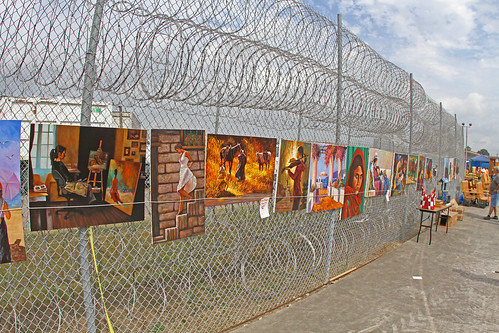 Offenders Artwork at Angola Prison Rodeo