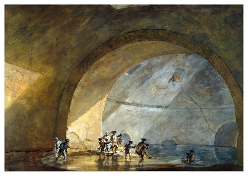 008-Grotto at Baia- Charles-Louis Clérisseau- State Museum Hermitage