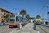 MUNI METRO/MUNI F-LINE CARS--1492 (IB), 1010 at Brannan Station by milantram