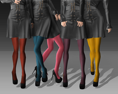 Sheer Tights (Colors)