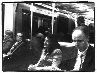La gente en metro