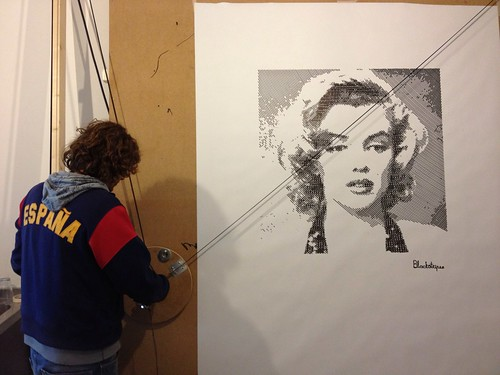 Marylin Monroe by Blackstripes