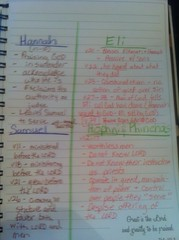 Online bible study Hannah Samuel