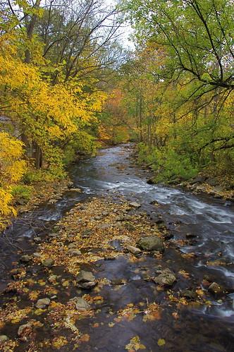 bridge fallcolors irondequoitcreek philbricklinearpark