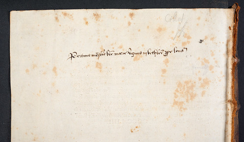 Ownership inscriptions in Pius II, Pont. Max.: Epistolae familiares