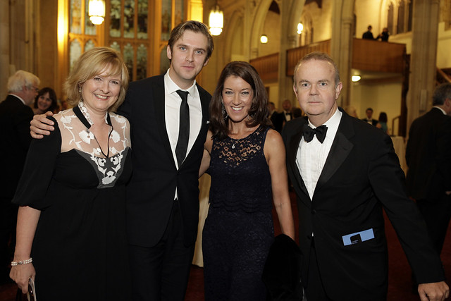 Martha Kearney, Dan Stevens, Victoria Hislop & Ian Hislop - c Janie Airey
