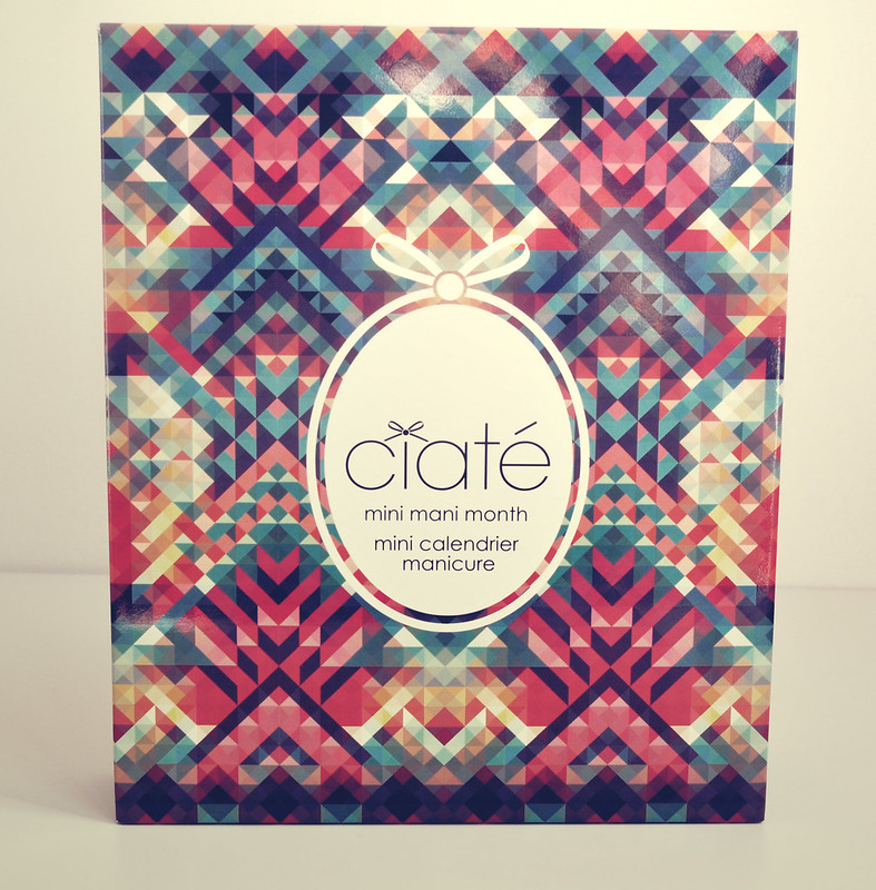 ciate mini nail polish advent calendar 1