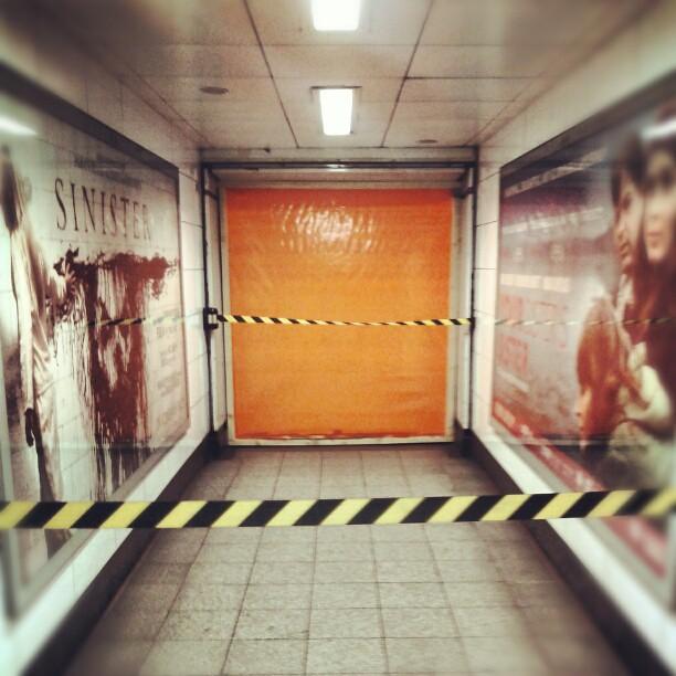 Emergency tube closure, 12:54