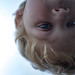 Small photo of Gabe in the sunroof