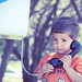 boy on phone (sweet)