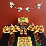 Rasta Dessert Table