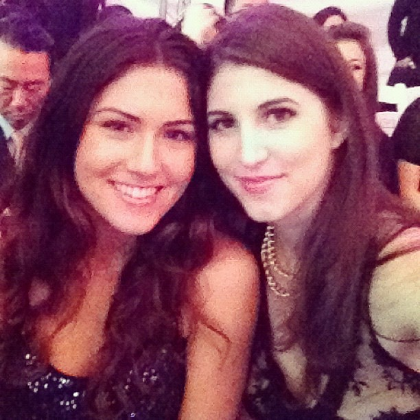 The lil sis @KellyYazdi #LAFW #losangelesfashionweek @theLAFashion