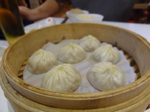 Xiaolongbao at DINTAIFUNG