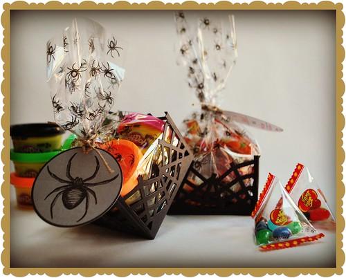 Halloween goodies bags