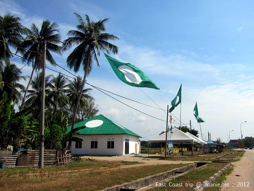 East Coast trip - PAS flags