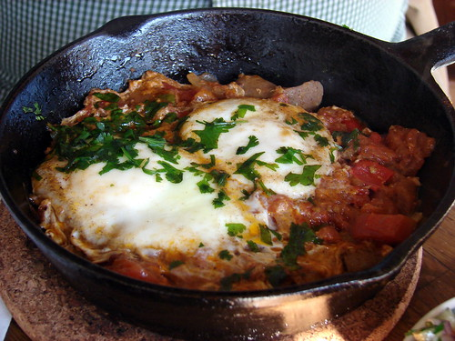 Mike's shakshuka, at Mimi's