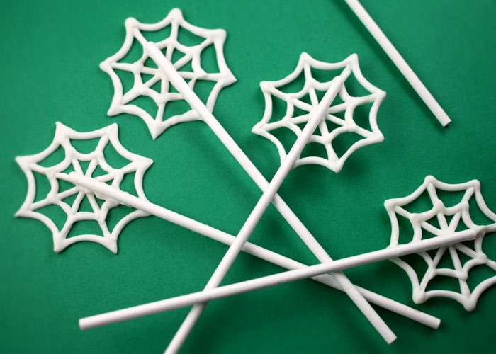 Spider Web Sticks
