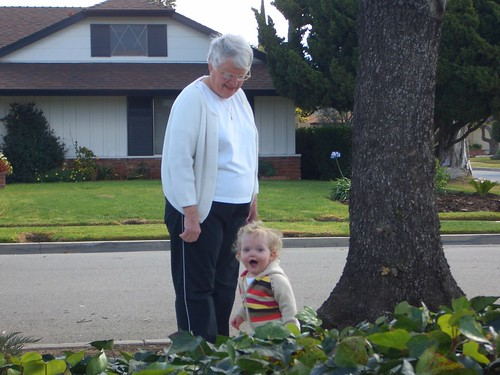 my grandma and addie