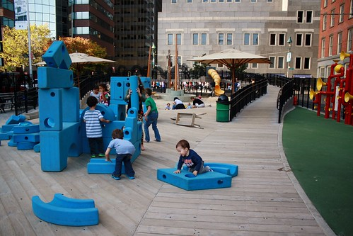 Imagination Playground, NYC 2012