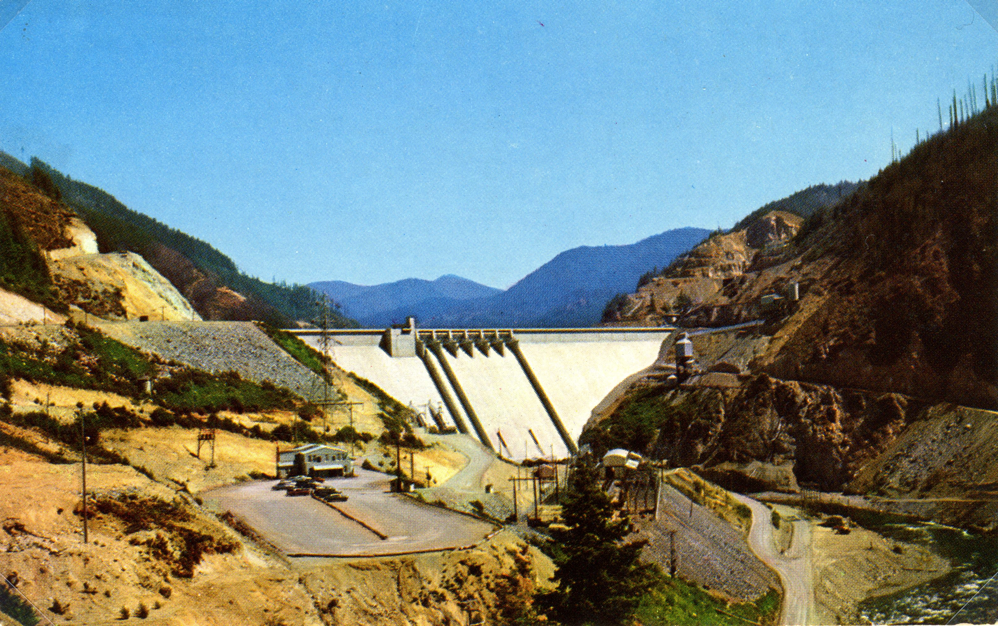 Detroit Dam - Santiam Valley, Ore.