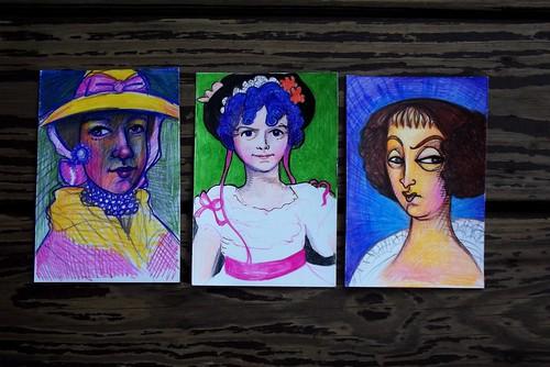 Technicolor illustrations