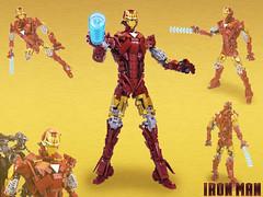 Iron man & War Machine action figures par Brickthing