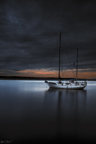 sunset storm water clouds boat nikon darkness sail pugetsound tacoma rustonway commencementbay leefilters d800e