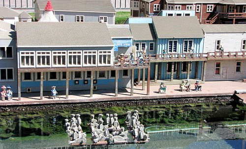 Sea lions at Pier 39 - Miniland San Francisco