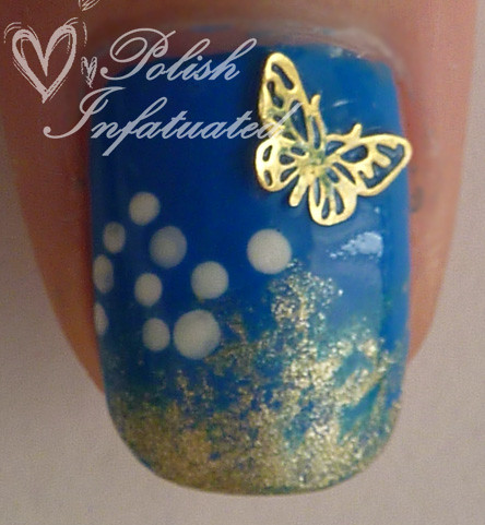 the blues-polka dot, flowers, butterflies and glitter4