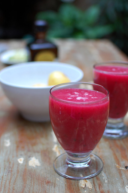 Cactus pear smoothie