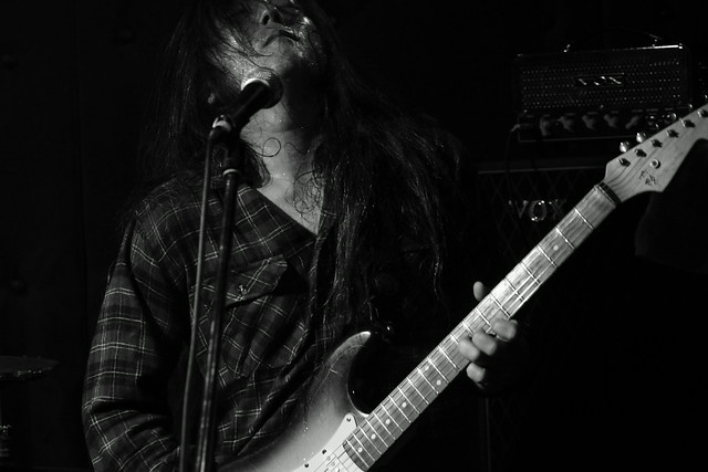 O.E. Gallagher live at Shimbashi ZZ, Tokyo, 21 Oct 2012. 114
