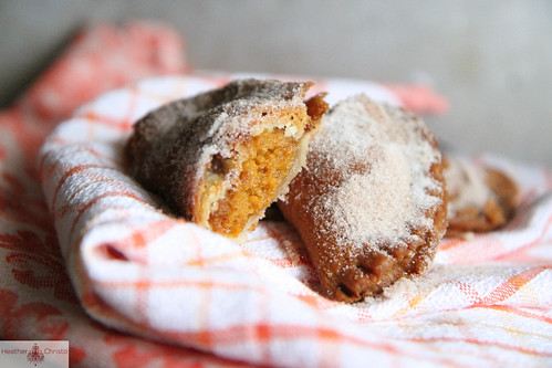 Fried Pumpkin Hand Pies