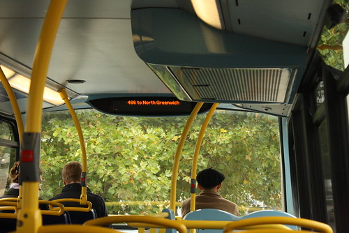 London 486 bus