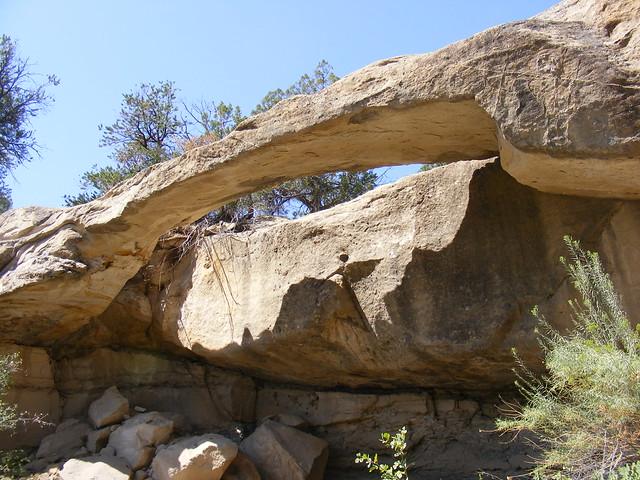 New Mexico Natural Arch NM-341 Delgadita Canyon Arch