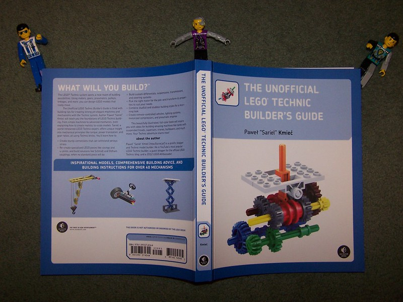 Book Review The Unofficial Lego Technic Builders Guide Lego