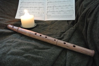 Alto tapered pflute, wood