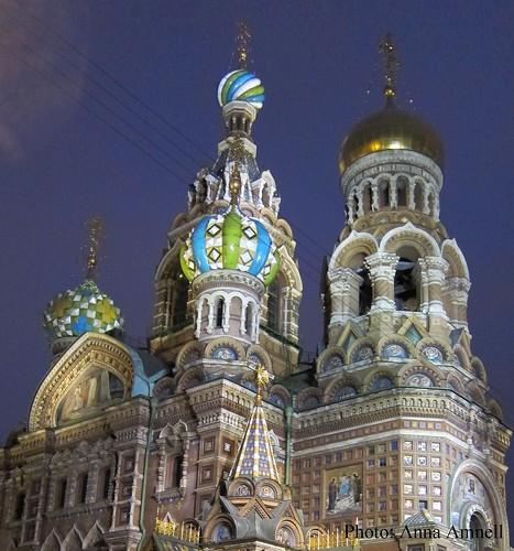 Pietarin verikirkko lokakuussa 2012